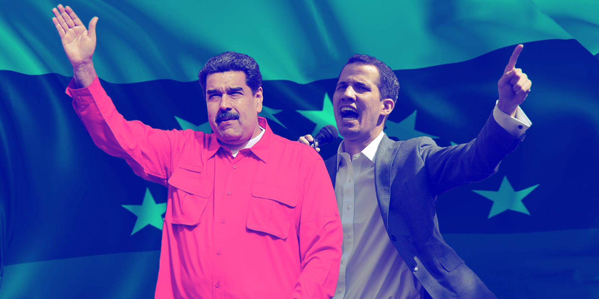 Foto Qué está pasando Venezuela Maduro Guaidó 24 de enero 2019