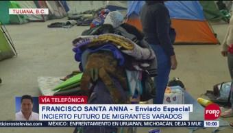 Es Incierto El Futuro De Migrantes Varados En Tijuana, Futuro De Migrantes, Varados, Tijuana, Migrantes Centroamericanos, Bodega Llamada Contra Viento Y Marea