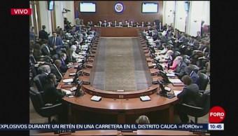 Realizan reunión extraordinaria en la OEA por crisis en Venezuela