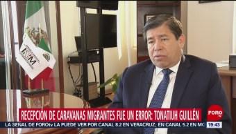 Recepción Caravanas Migrantes Un Error Tonatiuh Guillén