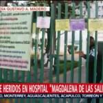 Foto, 26 enero 2019, Reporte de hospitalizados por la explosión en Tlahuelilpan