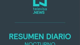 Foto: Noticias Destacadas Noche 16 Octubre Noticieros Televisa