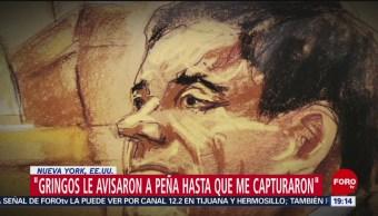 Foto: último día juicio 'El Chapo' 24 de enero 2019