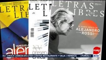 Revista Letras Libres Cumple 20 Años