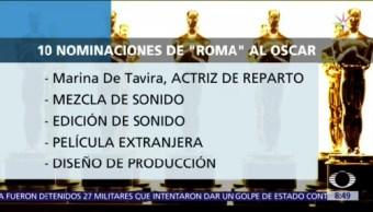 'Roma' de Cuarón consigue 10 nominaciones a los Premios Oscar