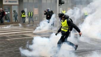 periodistas franceses denuncian ataques de chalecos amarillos durante protestas