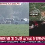 Confirman 66 muertos y 76 heridos por explosión de ducto en Tlahuelilpan, Hidalgo