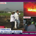 Reportera narra explosión de ducto en Tlahuelilpan, Hidalgo