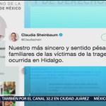 Reacciones en redes sociales por explosión de ducto en Tlahuelilpan, Hidalgo
