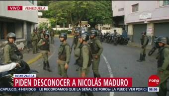 Sargento de la Guardia Nacional pide desconocer a Nicolás Maduro