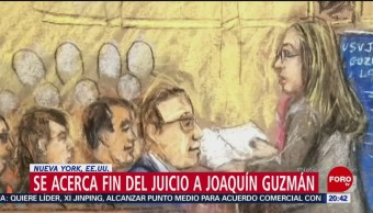 Foto: Juicio 'El Chapo' Guzmán 31 de Enero 2019