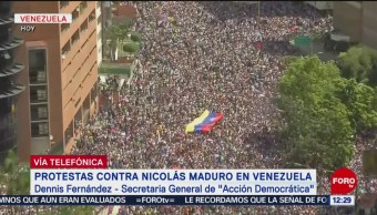 Se agudiza crisis en Venezuela: Dennis Fernández