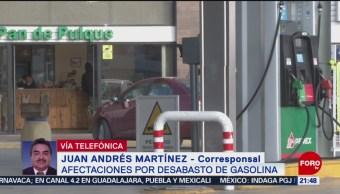 Se cumple una semana con desabasto de combustible en Coahuila