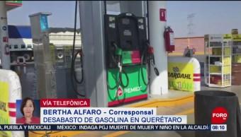 Se cumplen 15 días de desabasto de combustible en Querétaro