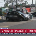 Foto: Se cumplen 28 día de desabasto de combustible en Jalisco