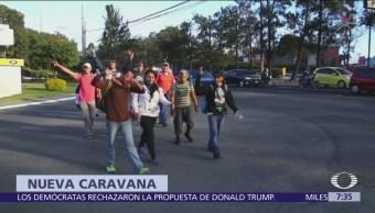 Segunda caravana migrante del 2019 sale de Honduras