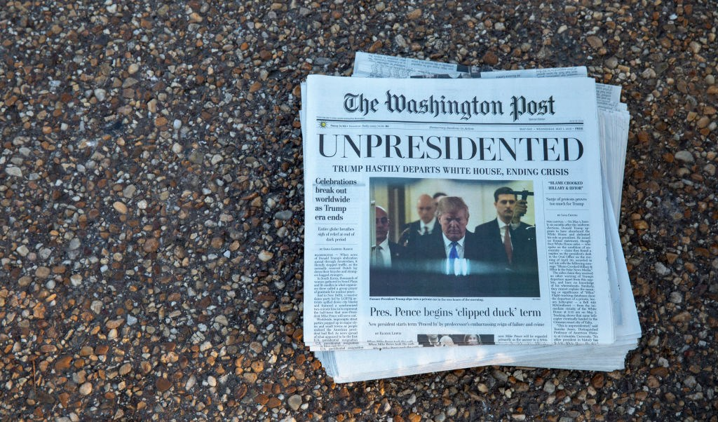Fake News: Anuncia The Washington Post renuncia de Trump