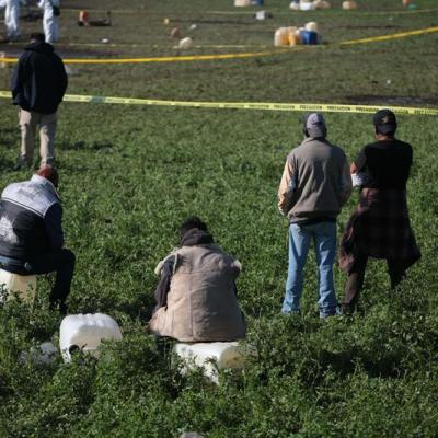 Suman 109 muertos por explosión en Tlahuelilpan, Hidalgo