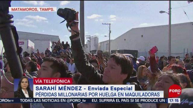Foto: Solucionan Conflicto Maquiladoras Matamoros 30 de Enero 2019