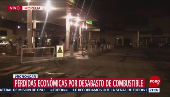 Suman 21 Días De Carencia Combustible Michoacán