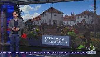 Suman 21 muertos por ataque con coche bomba en Bogotá