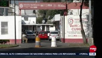 Suspenden verificación vehicular CDMX del 1 al 6 de enero