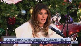 The Daily Telegraph ofrece disculpas a Melania Trump