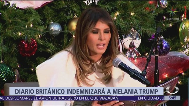 The Daily Telegraph ofrece disculpas a Melania Trump