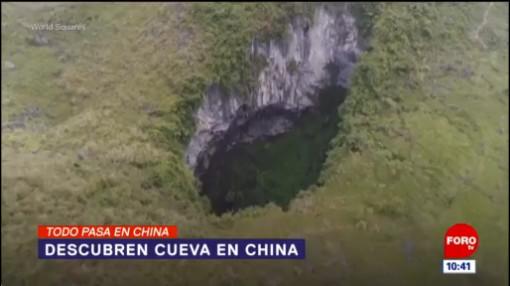 Todo Pasa En China: Descubren cueva en China