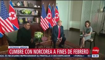 Trump anuncia nueva reunión con el líder norcoreano, Kim Jong-Un