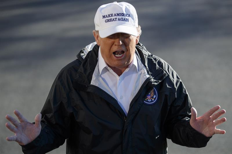 Trump cancela viaje a Foro de Davos