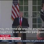 Foto: Trump Firma Ley Abrir Gobierno Estados Unidos 25 de Enero 2019