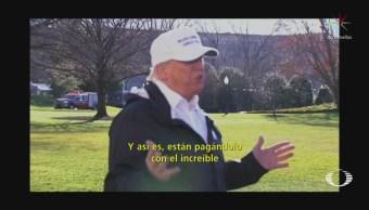 Trump Visita Frontera Con México Cierre De Gobierno