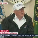 Trump visita frontera de Texas con México