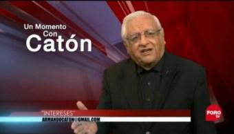 Un Momento Con Catón, 3 De Enero De 2019, Armando Fuentes Catón, Un Momento Con Catón, Nostalgia En La Política, Intereses Personales