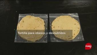 UNAM crea tortillas contra malos hábitos alimenticios de mexicanos