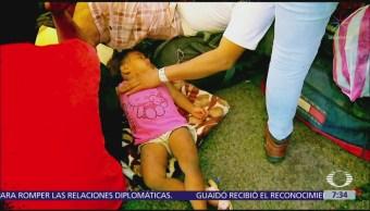 Unicef pide dar prioridad a niños en caravana migrante