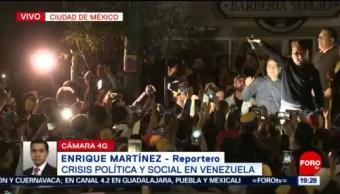 Foto: Venezolanos en México apoyan a Juan Guaidó, 23 de enero 2019