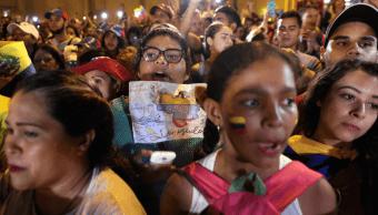 Foto: Venezolanos protestan contra Nicolás Maduro, 23 enero 2019, Caracas, Venezuela
