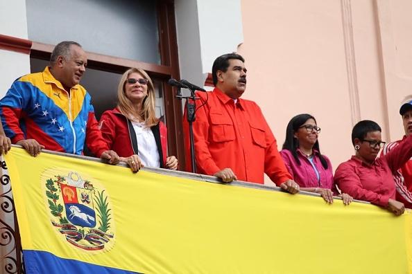 Foto: Nicolás Maduro ofrece discurso en Caracas el 23 de enero del 2019