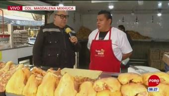 Visita al mercado de la Magdalena Mixhuca