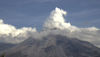 Volcán de Fuego de Colima aumenta actividad