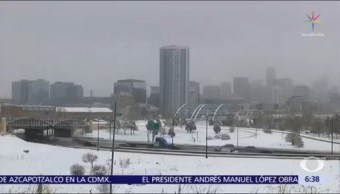 Vórtice polar genera más frío en Chicago que el Polo Norte