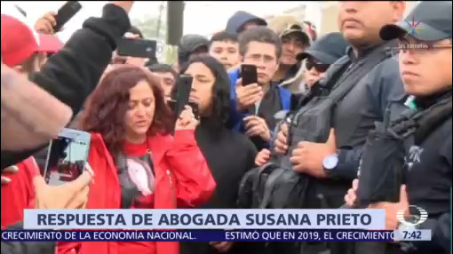 Abogada Susana Prieto amenaza a Despierta
