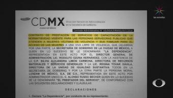 Foto: Administración Cdmx Contrató Empresas No Existen 11 Febrero 2019
