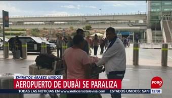 Aeropuerto de Dubai se paraliza por avistamiento de drones