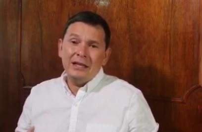 Foto: David Parada Vázquez, alcalde de Arriaga, Chiapas, 6 de febrero 2019. Facebook David Parada Vázquez