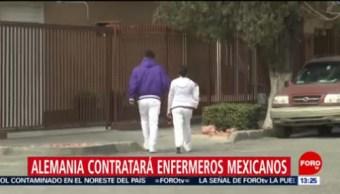 FOTO: Alemania contratará enfermeros mexicanos, 23 febrero 2019