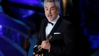 Foto: Roma de Alfonso Cuarón consigue su primer Oscar en la categoría de Mejor Fotografía, el 24 de febrero de 2019. (Reuters)