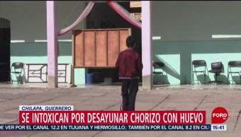 Foto: Alumnos se intoxican por comer chorizo con huevo en Guerrero